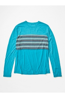 Men's Echo View Long-Sleeve Shirt, Enamel Blue, medium