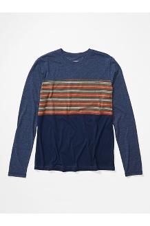 Men's Echo View Long-Sleeve Shirt, Arctic Navy, medium