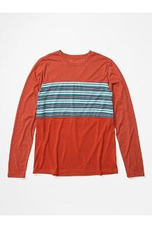 Men's Echo View Long-Sleeve Shirt, Picante, medium