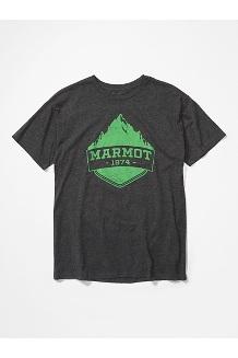 Men's Mono Ridge Short-Sleeve T-Shirt, Charcoal Heather, medium