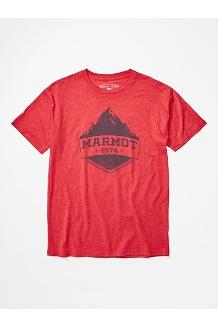 Men's Mono Ridge Short-Sleeve T-Shirt, Red Heather, medium