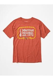 Men's Ascender Short-Sleeve T-Shirt, Picante Heather, medium