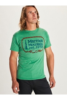 Men's Ascender Short-Sleeve T-Shirt, Green Heather, medium