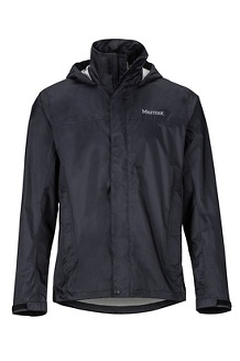 Men's PreCip Eco Jacket - Tall, Black, medium