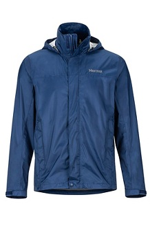 Men's PreCip Eco Jacket - Tall, Arctic Navy, medium