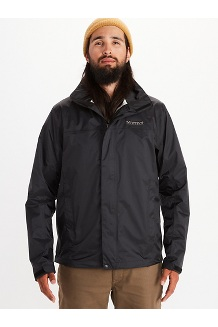 Men's PreCip Eco Jacket, Black, medium