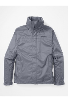 Men's PreCip Eco Jacket, Steel Onyx, medium