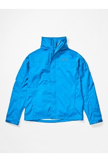 Men's PreCip Eco Jacket, Classic Blue, medium