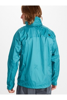 Men's PreCip Eco Jacket, Enamel Blue, medium