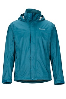 Men's PreCip Eco Jacket, Moroccan Blue, medium