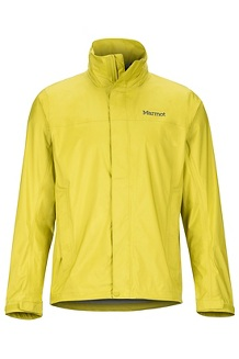 Men's PreCip Eco Jacket, Citronelle, medium