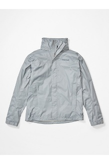 Men's PreCip Eco Jacket, Sleet, medium
