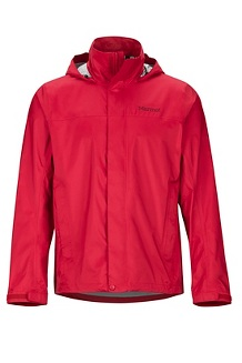Men's PreCip Eco Jacket, Team Red, medium