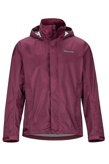 Men's PreCip Eco Jacket, Fig, medium