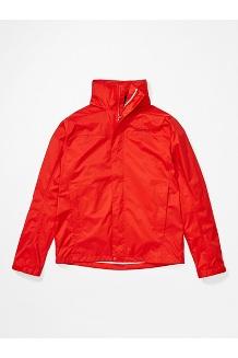 Men's PreCip Eco Jacket, Victory Red, medium