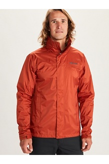 Men's PreCip Eco Jacket, Picante, medium