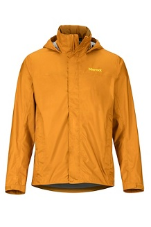 Men's PreCip Eco Jacket, Aztec Gold, medium