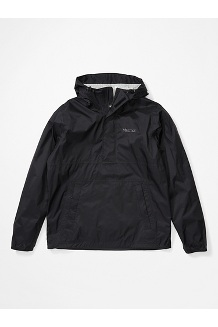 Men's PreCip Eco Anorak, Black, medium