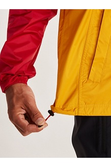 Men's PreCip Eco Anorak, Team Red/Solar, medium