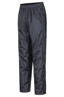 Men's PreCip Eco Full-Zip Pants - Long, Black, medium