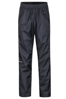 PreCip Eco Full-Zip Pants - Short, Black, medium