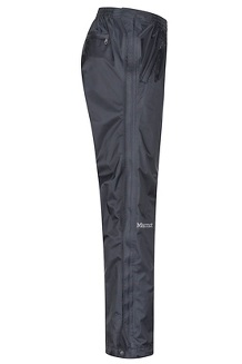 Men's PreCip Eco Full-Zip Pants - Short, Black, medium