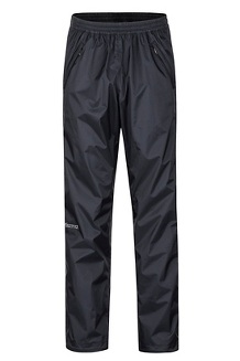 Men's PreCip Eco Full Zip Pants, Black, medium