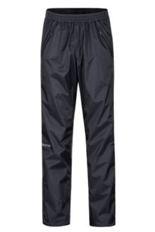 PreCip Eco Full-Zip Pants, Black, medium