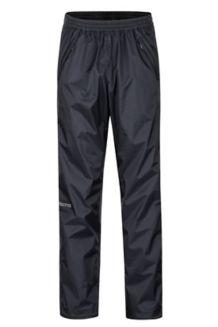 PreCip Eco Full-Zip Pants, Black, medium