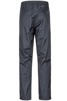 Men's PreCip Eco Pants - Short, Black, medium