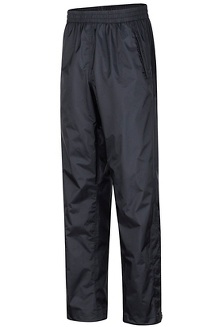 Men's PreCip Eco Pants, Black, medium