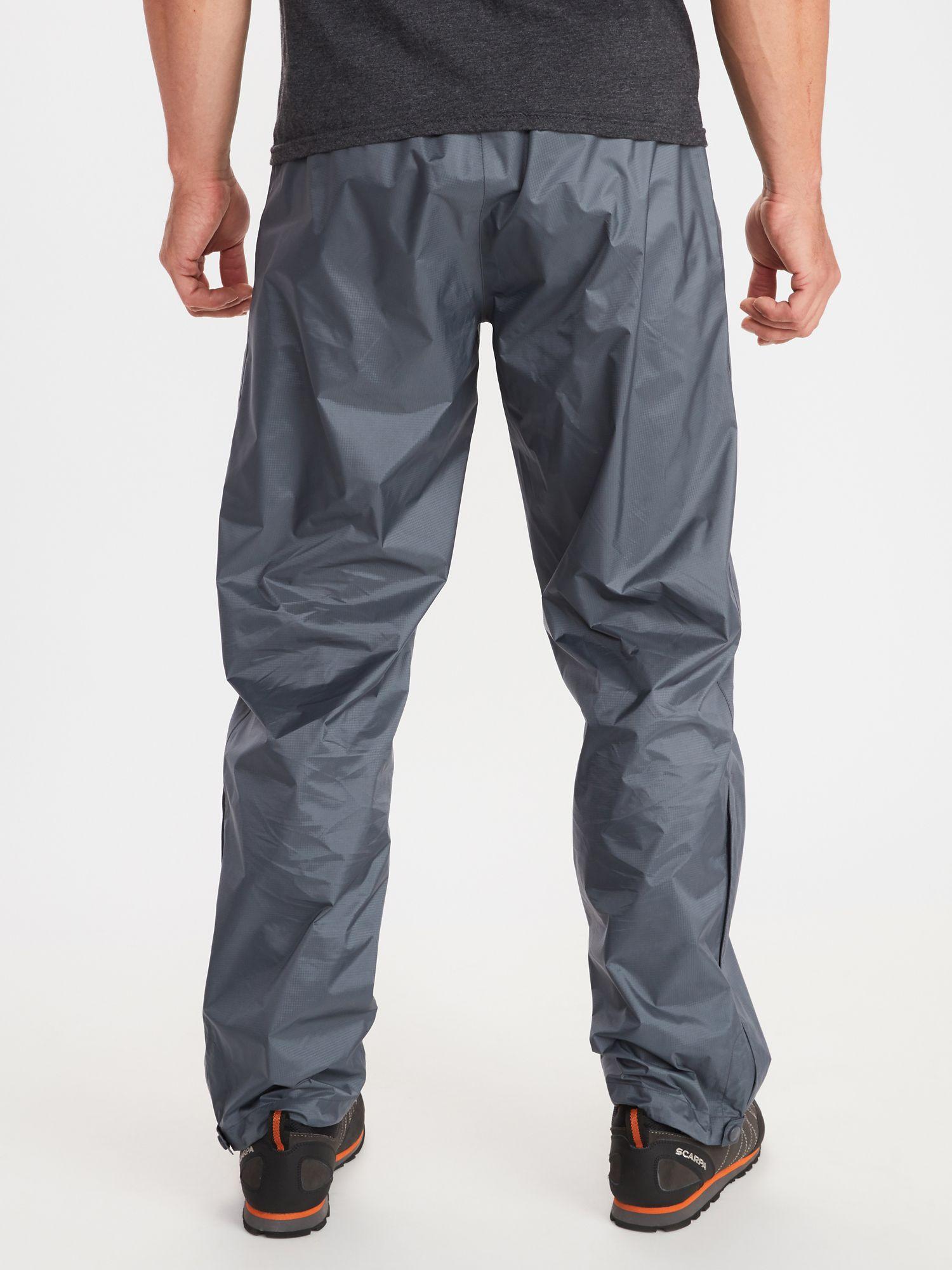 Marmot Mens Precip Eco Pant Short Hardshell Rain Proof Pants Waterproof Trousers Breathable Windproof