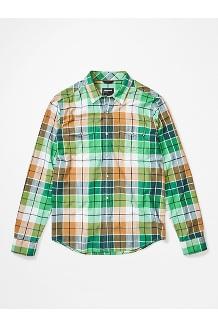 Men's Parkfield Long-Sleeve Shirt, Botanical Garden, medium