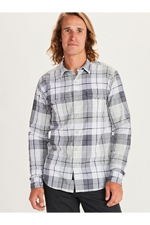 Men's Parkfield Long-Sleeve Shirt, Sleet, medium