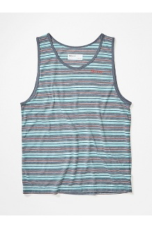 Men's Amp Tank Top, Steel Onyx, medium