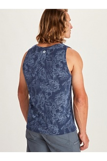 Men's Amp Tank Top, Denim, medium