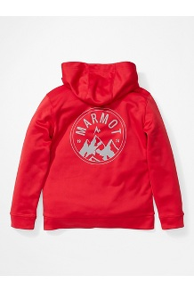 Boys' Mills Hoody, Team Red, medium