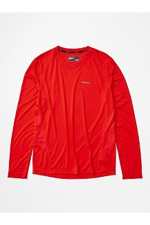 Men's Windridge Long-Sleeve Shirt, Victory Red, medium