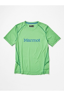 Men's Windridge with Graphic Short-Sleeve Shirt, Kelly Green, medium