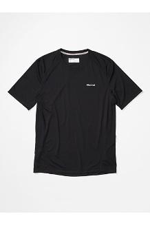 Men's Windridge Short-Sleeve Shirt, Black, medium