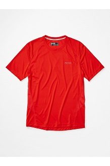 Men's Windridge Short-Sleeve Shirt, Victory Red, medium