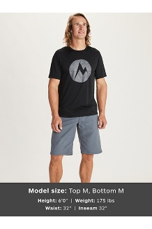 Men's Transporter Short-Sleeve T-Shirt, Steel Onyx Heather, medium