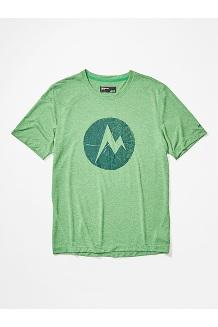 Men's Transporter Short-Sleeve T-Shirt, Kelly Green Heather, medium
