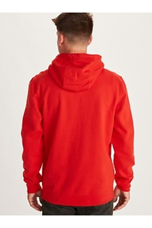 Men's Chock Hoody, Victory Red, medium