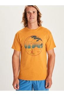 Men's Marmotini Short-Sleeve T-Shirt, Aztec Gold Heather, medium
