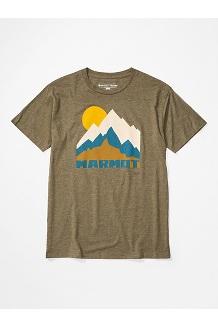 Men's Tower Short-Sleeve T-Shirt, Olive Heather, medium