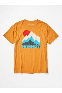 Men's Tower Short-Sleeve T-Shirt, Aztec Gold Heather, medium