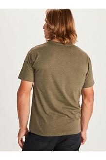 Men's Forest Short-Sleeve T-Shirt, Red Heather, medium