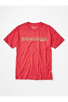 Men's Forest Short-Sleeve T-Shirt, Red Heather, medium