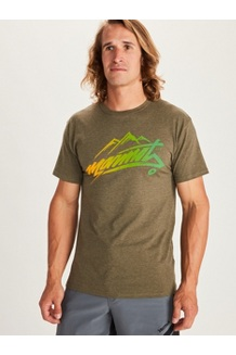 Men's Marmot Rad Short-Sleeve T-Shirt, Olive Heather, medium